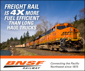 BNSF in Sandpoint Reader