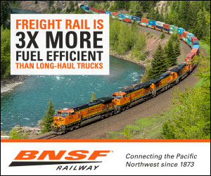 BNSF fuel efficieny