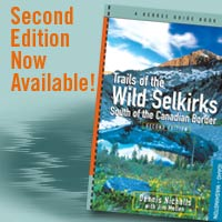 Trails of the Wild Selkirks hiking guidebook