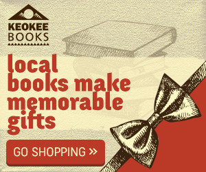 Local books from Keokee Books make memorable gifts