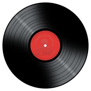 5027967-vinyl-record-with-a-color-center-on-a-white-background