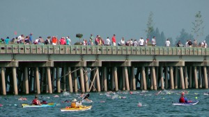 The 2014 Long Bridge Swim. Photo courtesy Keokee.