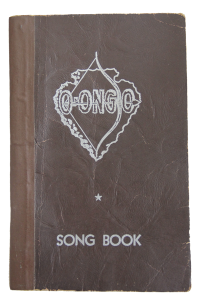 The fabled song book from Camp O-ongo.