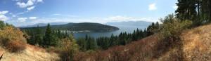 Panoramic view of Garfield Bay. Photo by Ferris McDaniel.