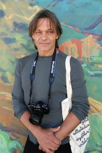 "Internationally acclaimed photographer Pavel ""Pasha"" Antonov in Sandpoint. Photo by Ben Olson."
