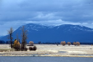The Kootenai National Wildlife Refuge. Photo by Ben Olson.