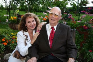 Dr. Forrest M. Bird with his wife Pam. Photo courtesy Pam Bird.