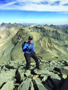 Nearing the summit.