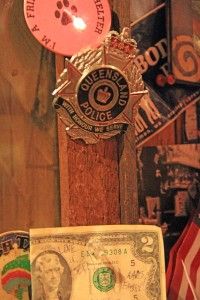 Ask Jeff at Eichardt's about this badge on his wall.