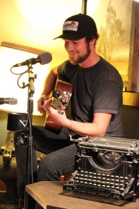 """Josh Hedlund at the """"Live @ the Office"""" concert last spring. Photo by Ben Olson."""