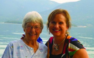 "Tookie Hensley, left, and Dr. Pamela Riddle Bird, right, were among the victims of Thursday's airplane crash. Credit: ""Flight for Success"" blog"