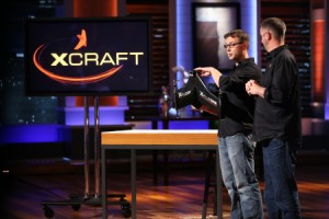 "JD Claridge, left, and Charles Manning, right, appear on ""Shark Tank."" Photo courtesy of ABC."