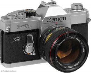 The Canon FTb; maybe not such a cool name, but an awesome piece of machinery.