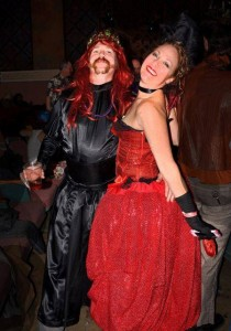 A couple of revelers enjoy last year's Follies at the Panida Theater. Courtesy photo.