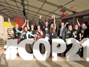 2050 Scotland's Youth Climate Group are part of the next generation's leadership to apply solutions to climate change. Photo by Gary Payton.