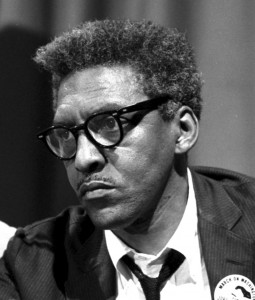 Bayard Rustin in 1963. Courtesy of the Creative Commons.