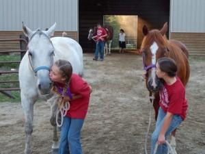 child-horse-show-entrance