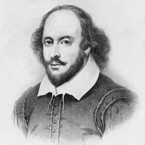 William Shakespeare. Not so sure about the earring, though.
