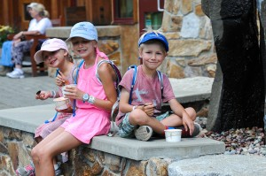 Some happy pint-sized customers. Photo courtesy of SMR.