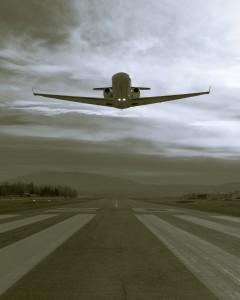 A Cessna CJ with Tamarack winglets takes flight. Photo by Halden Gates.