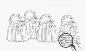 Illustration by Nancy Cerra.
