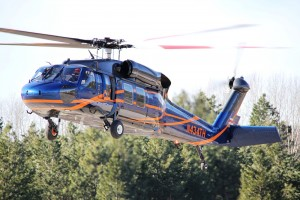 A Blackhawk helicopter owned by Timberline that has been successfully repurposed. Photo courtesy of Timberline.