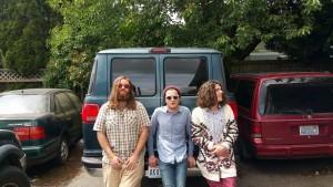 The Duke Evers Band is Kyle Veazey, Joshua Starkel and Dune Butler. Courtesy photo.