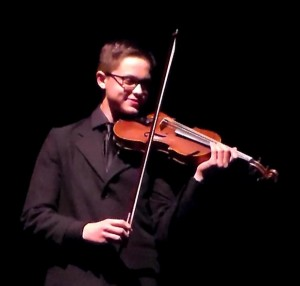 Max Reed's pleasure in classical music is contagious.Photo by Jodi Rawson.
