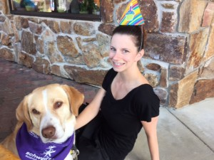 Chimney Rock manager Kellie Pierce with Drake.