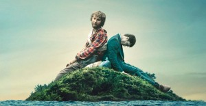"""Paul Dano (left) and Daniel Radcliffe's corpse (right) star in """"Swiss Army Man."""" Courtesy photo."""