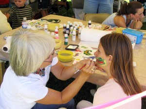 Face painting will be offered in the kids booth, along with other activites. Courtesy photo.