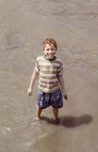 A photo of Adam Ferris as a child. Courtesy of the Ferris family.