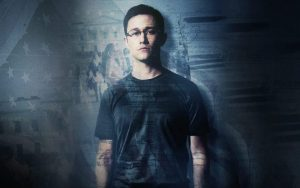 Joseph Gorden-Levitt plays Edward Snowden. Courtesy photo.