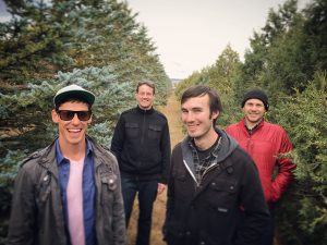 The Andy Hackbarth Band is all smiles when it comes to music.