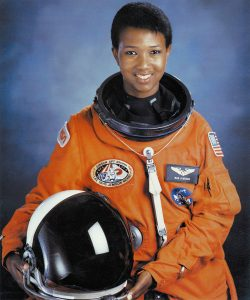 Mae Jemison, the first African American woman in space. NASA file photo.