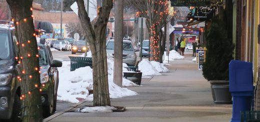 First Ave. in Downtown Sandpoint. Photo by Ben Olson.
