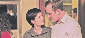 """Actors Rachael Perrell Fosket and Michael Draper navigate a rocky relationship in """"Emily."""" Courtesy photo."""