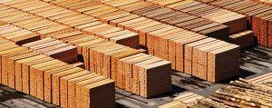 Milled lumber sits at a North Idaho mill awaiting shipment. Courtesy photo.