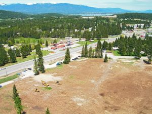 An aerial view of Sagle. Photo by Jerry Luther.