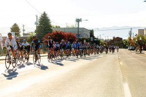 CHAFE riders cruise up Cedar St. during last year's event. Photo courtesy Sandpoint Rotary.