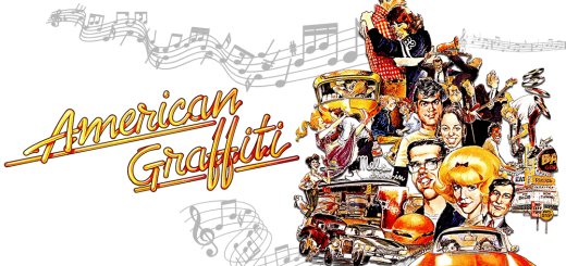 "A promotional poster for ""American Graffiti."""